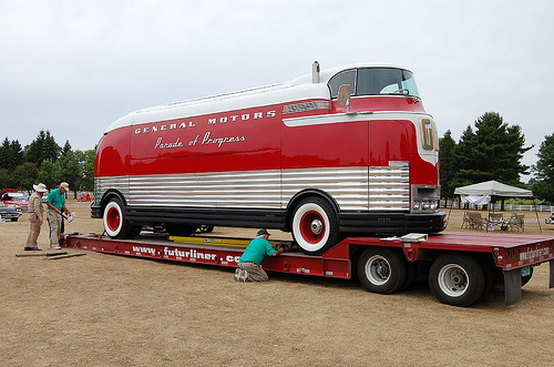 Restored GM Futurliner #10